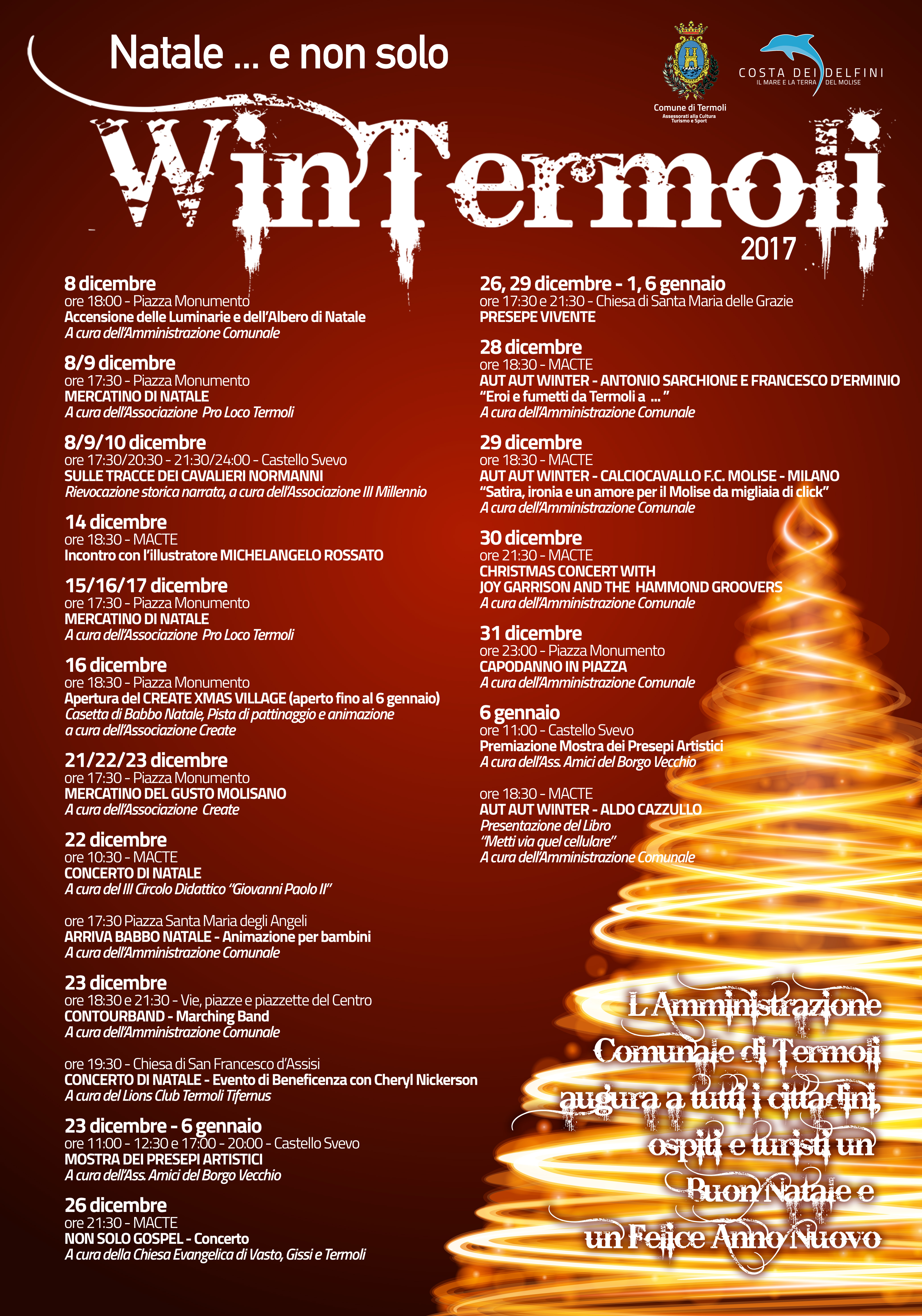 Eventi Di Natale.Termoli Presentato Questa Mattina Il Cartellone Di Eventi